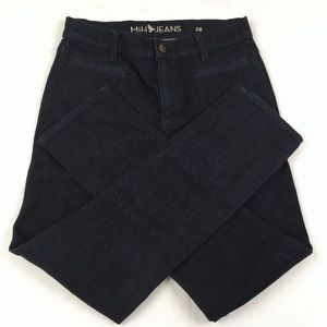 Anthropologie The Paris Dark Wash Denim Jeans